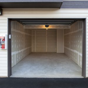 Garage with every apartment