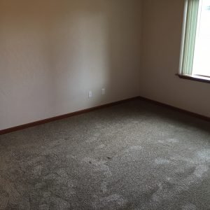 Bedroom in vacant apartment